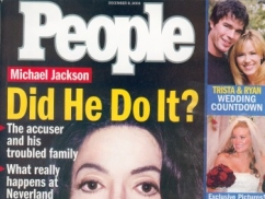 Michael Jackson People Magazine