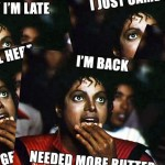 MJ Popcorn Memes – Just Here For Comments