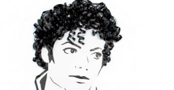 Recycled Cassette Tape MJ