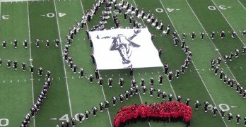 Ohio State Marching Band Does Michael Jackson Tribute
